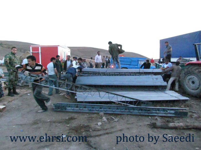 زلزله آذربایجان روستای زنگ آباد