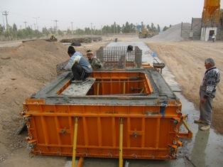 پلهای پیش ساخته بتنی مورد استفاده در راه آهن - موج پیشروپل پیش ساخته . . . . . . . . . . . .